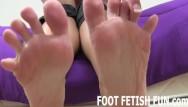 Foot fetish tube videos Pov feet and foot fetish femdom videos