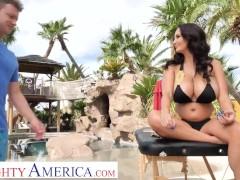 Naughty America - Ava Addams Rocks Her Son's Friend