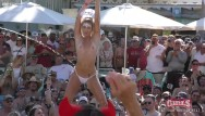 Adult pool party games Outdoor pool fuck party wet pussy flashing twerk off key west