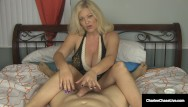 Small black dots on penis Small penis craving cougar charlee chase gives superb handjob