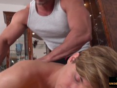 Twink Played At Some Point Of Voluptuous Massage