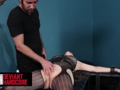Deviant Hardcore - Slave Cent Pax Gets Tied Up And Blown Hard