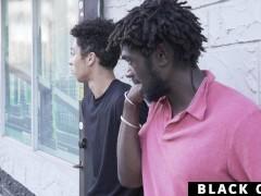 Blackgodz - Ebony God Rails A Newcomer's Taut Asshole