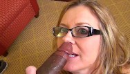 White wife suck black cock Mature wife sucks on bbc