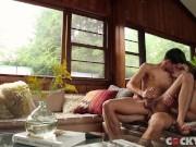 raw bareback 69 with real-life boyfriends, blake mitchell and leo grand