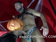 jess royan fucked hard bareback and creampied by big monster of halloween