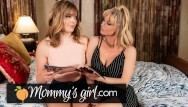 Learn sex video - Shy step-daughter learns lesbian sex from milf-mommysgirl