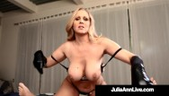 Stroking soft cock stories Busty cock stroking queen milf julia ann uses soft gloves to milk a dick