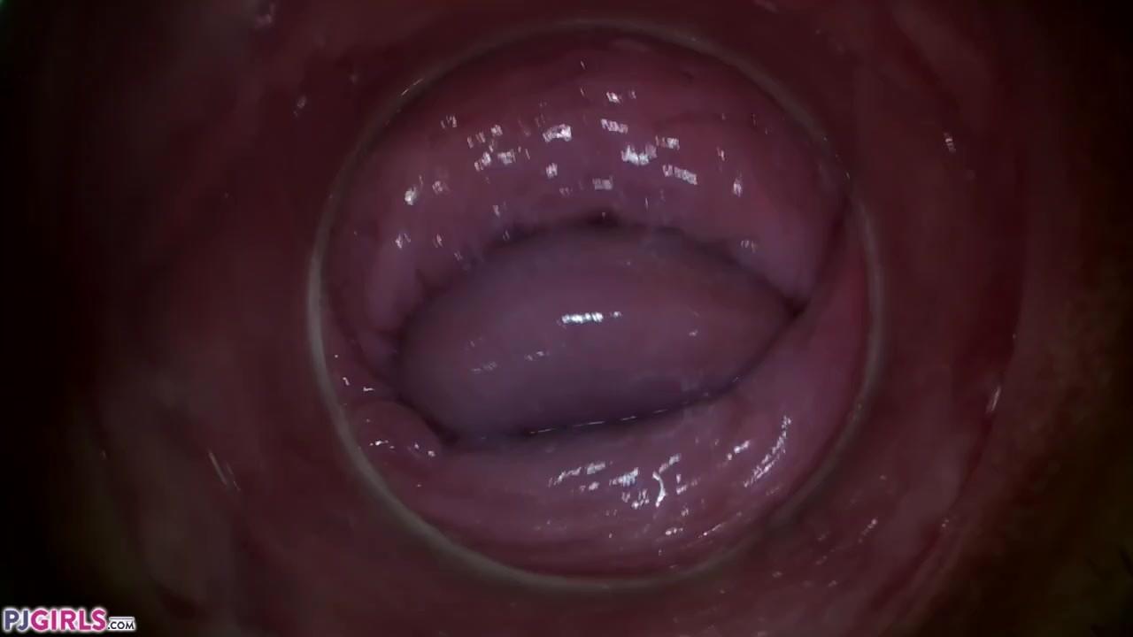 Watch camera inside vagina