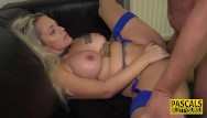 Ballgagged slut - Ballgagged busty milf sub