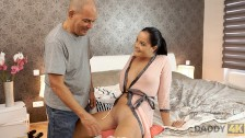 daddy4k. hot sugar daddy of boyfriend is more passionate in same bed