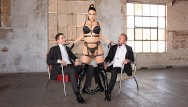 Double d breasts naked Jules jordan - angela white gets dpd in a desolate warehouse