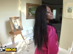 Bangbros - Ebony Babe Getting The Massage (and Dick) She Deserves