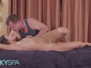Kinky Spa - Petite Adria Rae has a fetish for being massaged by old men