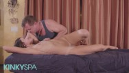 Men being naked stories Kinky spa - petite adria rae has a fetish for being massaged by old men