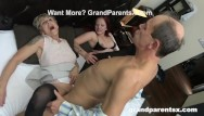Amateur mature movie slut Grandparents fucking little slut