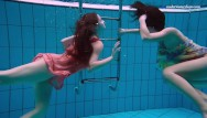 Russian teen boys swimming - Naked russian girls swim underwater