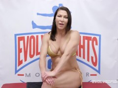 Ryan Keely Naked Grappling Ariel X And Winner Wrecks Idiot With Strapon