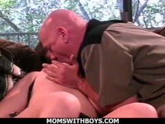 Momswithboys - Hot Wife Gets Anal Drilled Losing A Husband's Bet