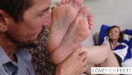Nurses giving sex therapy - Lexi luna gives footjob therapy
