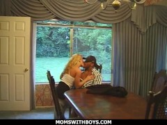 Momswithboys - Hotwife Spectacular School College Girl Romping His Molten Light-haired Teacher