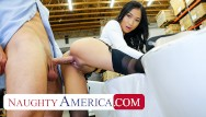America black pornstar - Naughty america - avery black seduces a lucky man