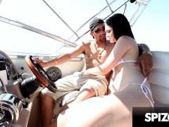 My Sexy Gf Kacey Quinn Deepthroats My Cock On The Boat