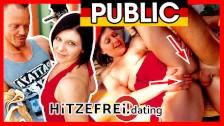 IN PUBLIC! Mini Hotcore's HORNY PUSSY FUCKED! Hitzefrei.dating
