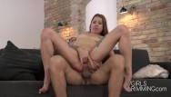 Molly getting fucked Brunette babe molly giving a sloppy rimjob and get ass fucked
