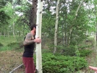 Biggus Dickus – hung stud ethan ever takes nude hike – colorado mountains