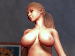 Big Boob Teen Breast Expansion at School – Long Leg Tall Lesbian Hourglass