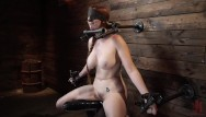 Redhead bondage models Red headed lauren phillips in grueling tight bondage and suffering