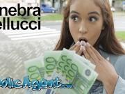 Public Agent celebrity look a like Ginebra Bellucci fucked in hot pov