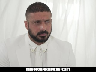 MissionaryBoys – Strapping Priest Fills A Missionary's Asshole With Cock
