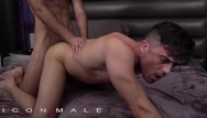 Deep gay black dick Iconmale - rimjob and deep dicking my power bottem