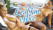Spoof porn movies lesbian - Vrconk sexy chubby girls masturbating with big dildo vr porn