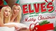 Ffm sex video free Vrconk ffm threesome with two hot sexy blonde elves vr free porn