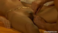 For asian longhorned He licks her indian pussy good and long