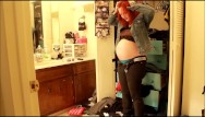 Custom fit condom Heavy pregnant clickbait custom video trying on clothes that dont fit