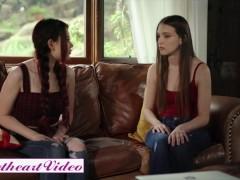 Sweetheart Vid - Bony Teenager Lesbian Slurp Pussy