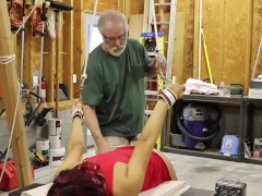 Sarah Lace (1 Of 2) Backside Poked Dt Handcuffed & Corded Domination & Submission Atv