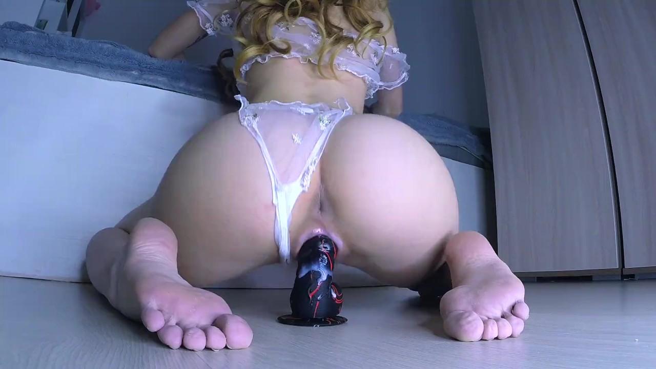 Chubby Anal Dildo Orgasm