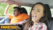 Sexy blonde doggie style - Fake driving school sexy hot learner kristy black fucked doggy style