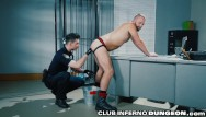 Gay search machines - Cop gives prisoner an extreme cavity search clubinfernodungeon