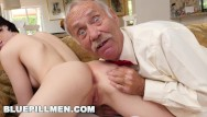 Sex pills for guys - Bluepillmen - geriatric guy licking young girls booty, in his glory