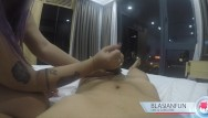 Massage escort edinburgh - Thick anonymous asian escort gives hand job in hotel w/ huge cumshot
