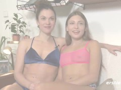 Lesbian Cord On Steaming Sex With Queens Talia And Alyssa