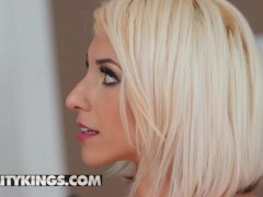 Reality Kings - Light-haired Cougar Cory Pursue Offers Hime Marie A Gobbling Lessons
