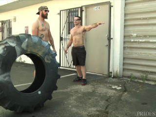 Athletic Competition: Winner Gets To Fuck The Loser DylanLucas