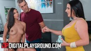 White ass zshare - Digital playground - two big tit curvy assistants share big cock